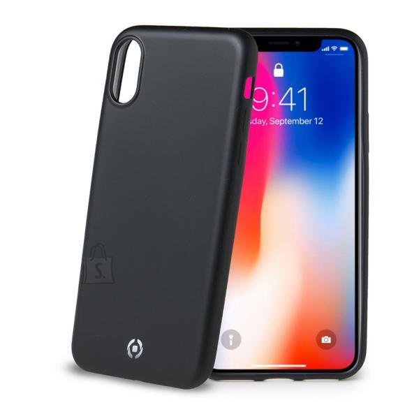 Celly iPhone X ümbris Softmatt
