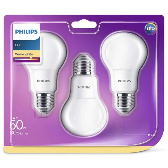 Philips LED lambipirn E27 3tk