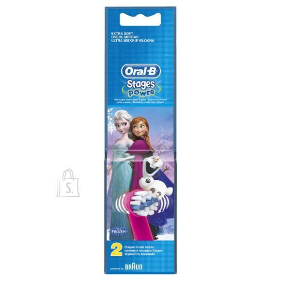 Braun lisaharjad laste hambaharjale Frozen 2 tk