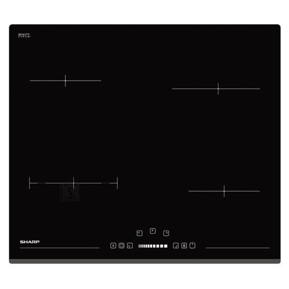 Sharp integreeritav keraamiline pliidiplaat