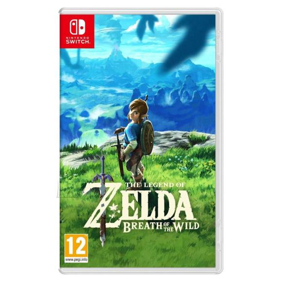 Nintendo Switch mäng The Legend of Zelda: Breath of the Wild