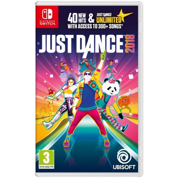 Ubisoft Switch mäng Just Dance 2018