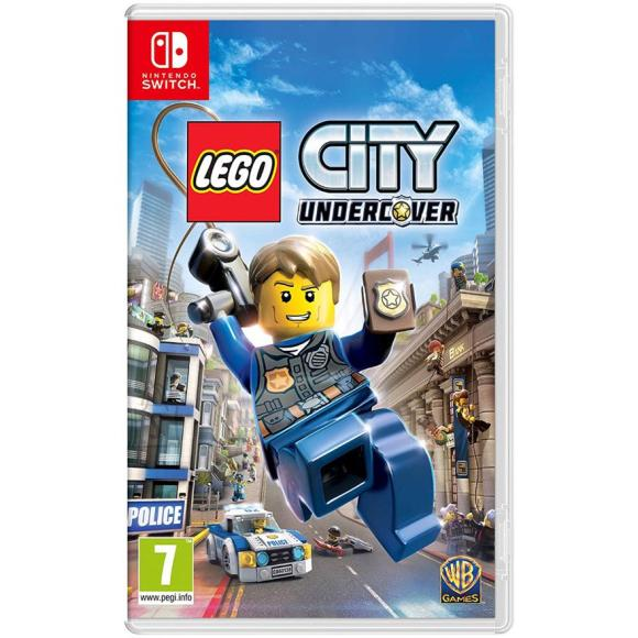 Warner Bros Switch mäng Lego City Undercover