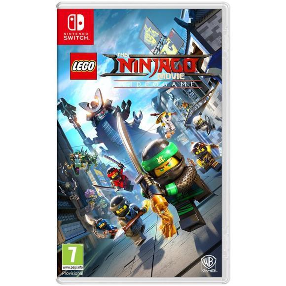 THQ Switch mäng Lego Ninjago Movie
