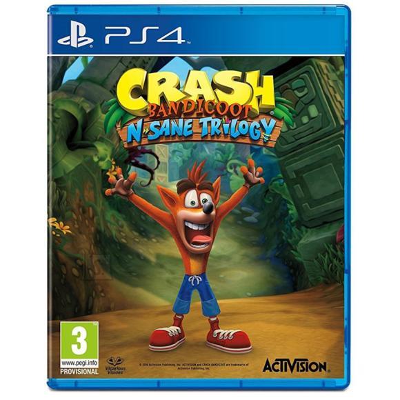 Activision Blizzard PS4 mäng Crash Bandicoot N. Sane Trilogy