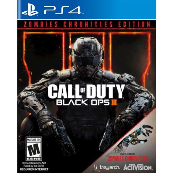 Activision Blizzard PS4 mäng Call of Duty: Black Ops III - Zombies Chronicles Edition