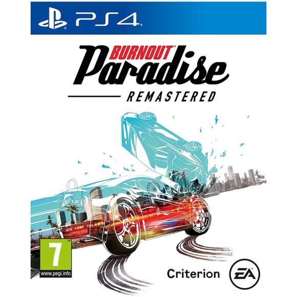 EA Games PS4 mäng Burnout Paradise Remastered