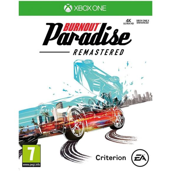 EA Games Xbox One mäng Burnout Paradise Remastered