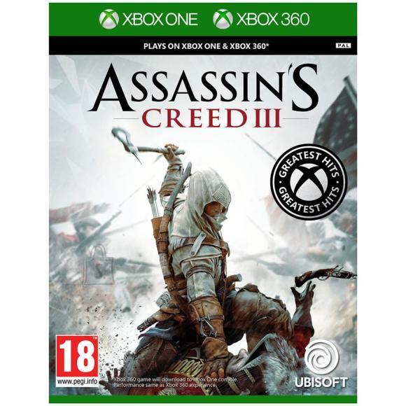 Ubisoft Xbox One game Assassin´s Creed III