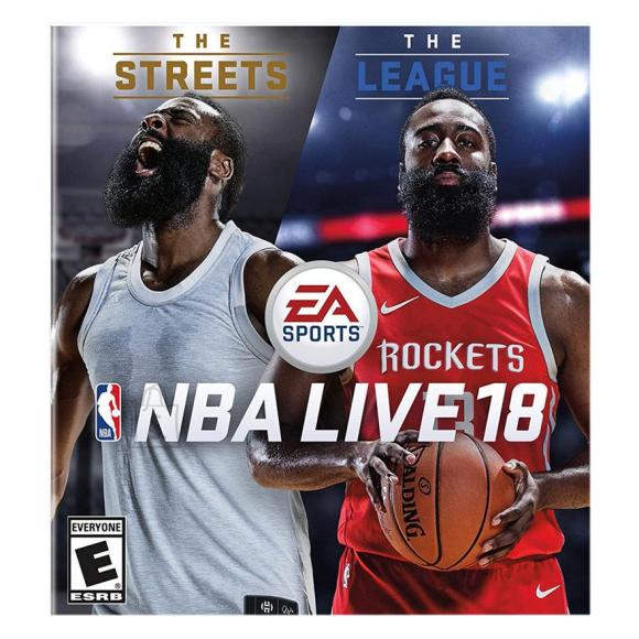 EA Sports Xbox One mäng NBA LIVE 18