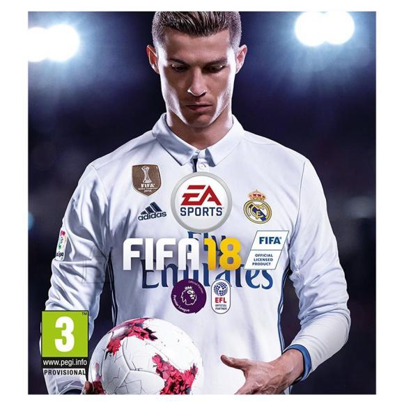 EA Sports Xbox 360 mäng FIFA 18