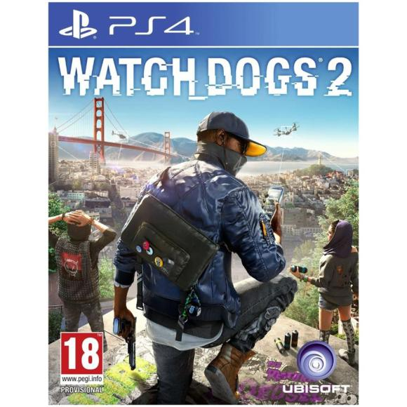 Ubisoft PS4 mäng Watch Dogs 2