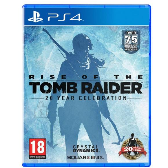 Square Enix PS4 mäng Rise of the Tomb Raider 20 Year Celebration