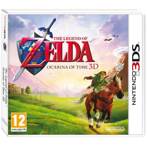 Nintendo 3DS mäng The Legend of Zelda: Ocarina of Time