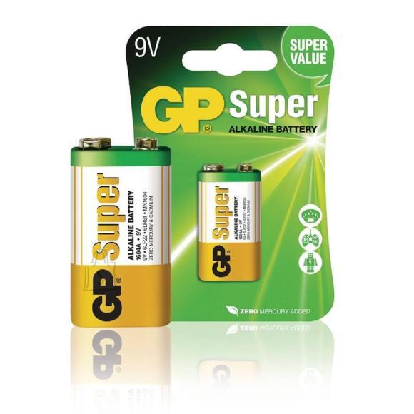 GP Patarei GP 6LF22 9V Alkaline