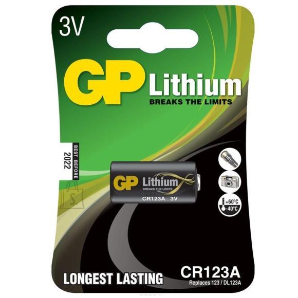 GP patarei CR123A