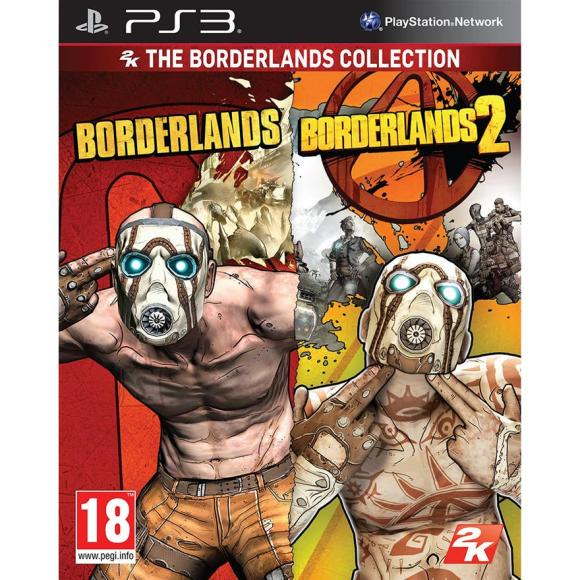 2K Games PlayStation 3 mäng The Borderlands Collection