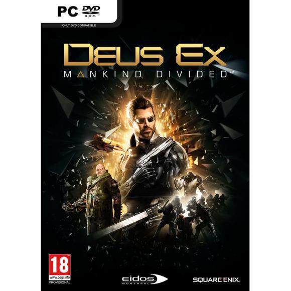 Square Enix arvutimäng Deus Ex: Mankind Divided