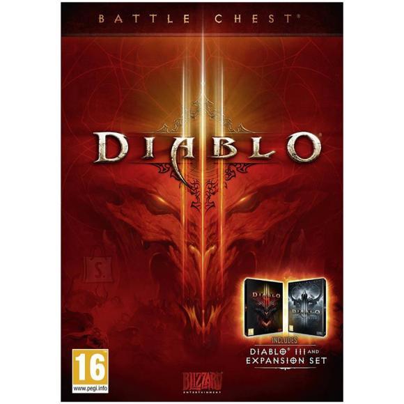 Activision Blizzard arvutimäng Diablo III: Battlechest