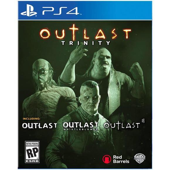 Rebellion PS4 mäng Outlast Trinity