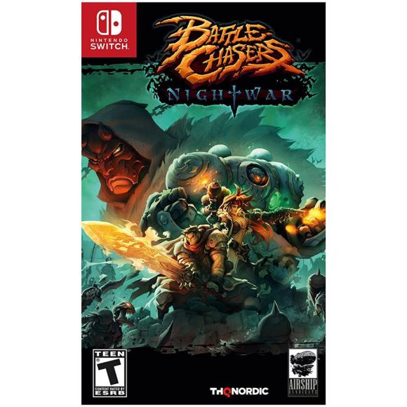 THQ Switch mäng Battle Chasers: Nightwar