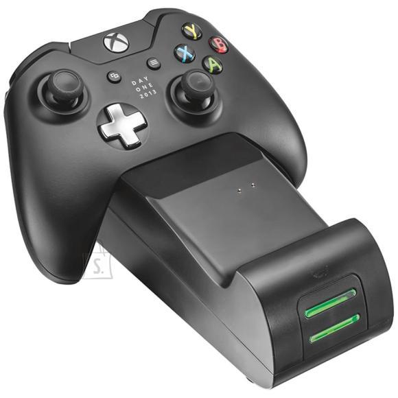 Trust Laadimisalus GXT 247 + aku kahele Xbox One puldile, Trust