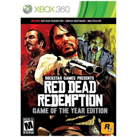 2K Games Xbox360 mäng Red Dead Redemption Game of the year edition