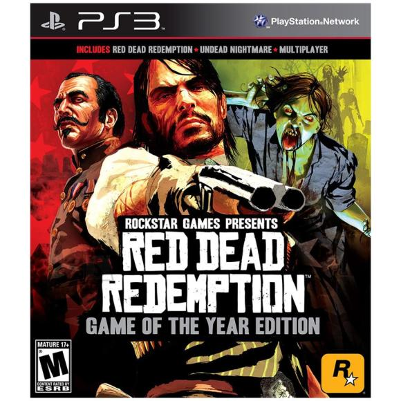 2K Games PlayStation 3 mäng Red Dead Redemption Game of the year edition