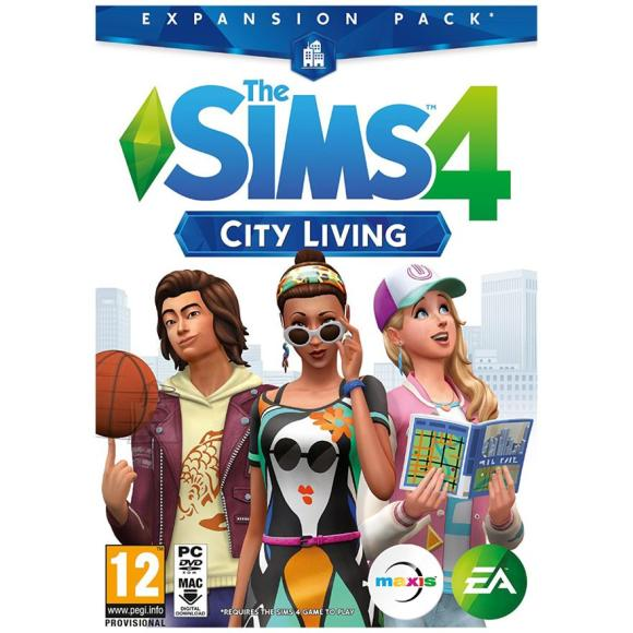 EA Games arvutimäng The Sims 4: City Living