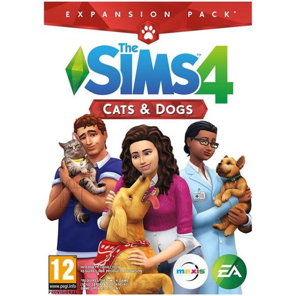 EA Games arvutimäng The Sims 4: Cats and Dogs