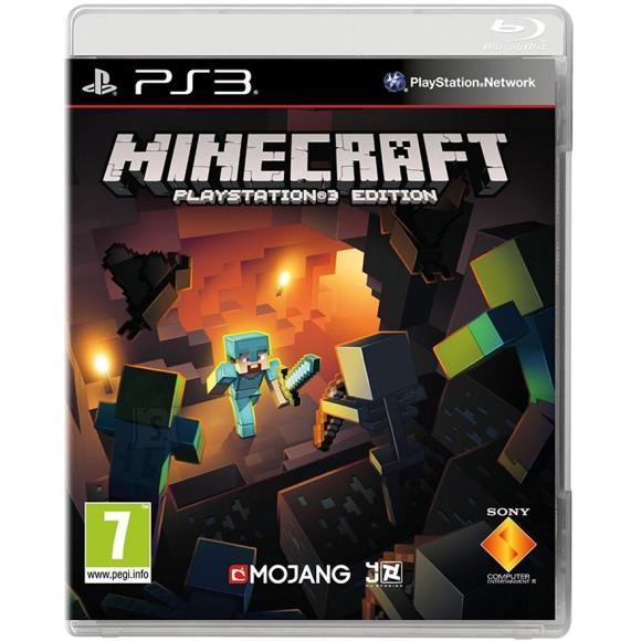 Microsoft PS3 mäng Minecraft