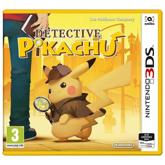 Nintendo 3DS mäng Detective Pikachu
