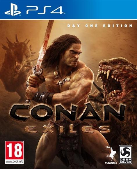 Funcom PS4 mäng Conan Exiles