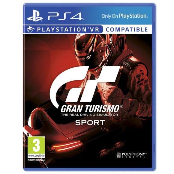 Sony PS4 mäng Gran Turismo Sport
