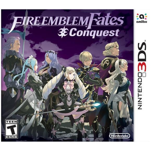 Nintendo 3DS mäng Fire Emblem Fates: Conquest