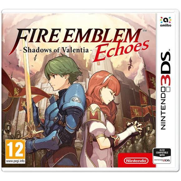 Nintendo 3DS mäng Fire Emblem Echoes: Shadows of Valentia