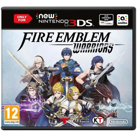Nintendo 3DS mäng Fire Emblem Warriors