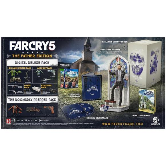 Ubisoft Xbox One mäng Far Cry 5 Father Edition