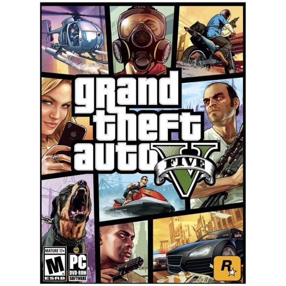 2K Games arvutimäng Grand Theft Auto V