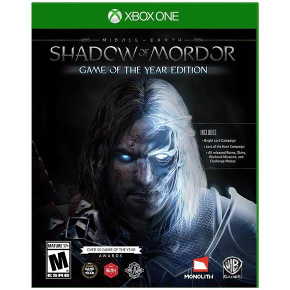 Warner Bros Xbox One mäng Middle-earth: Shadow of Mordor Game of the Year Edition