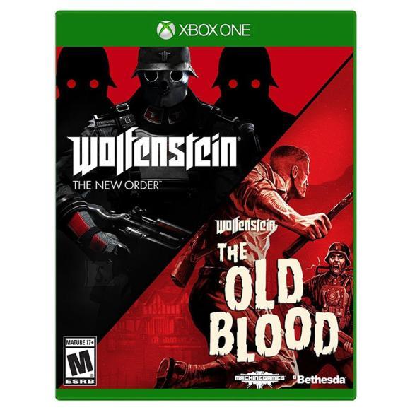 Bethesda Xbox One mäng Wolfenstein: Double Pack