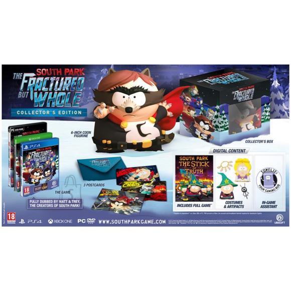 Ubisoft arvutimäng South Park: The Fractured But Whole Collectors Edition