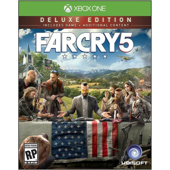 Ubisoft Xbox One mäng Far Cry 5 Deluxe Edition