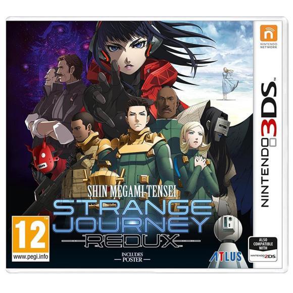 Atlus 3DS mäng Shin Megami Tensei: Strange Journey Redux