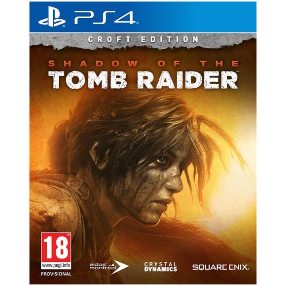 Square Enix PS4 mäng Shadow of the Tomb Raider Croft Edition