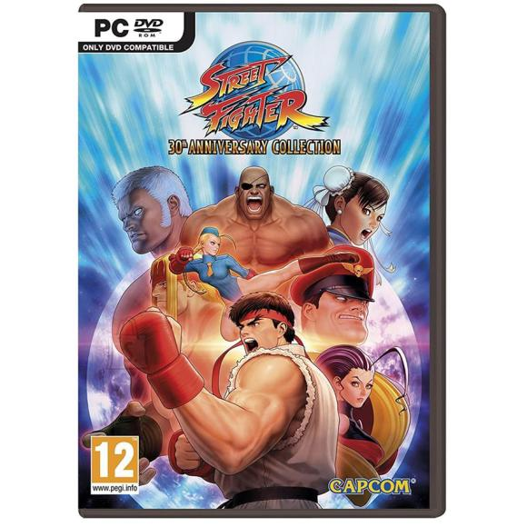 CapCom arvutimäng Street Fighter 30th Anniversary Collection