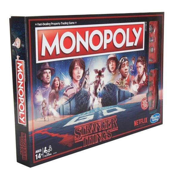 Hasbro lauamäng Monopoly Stranger Things