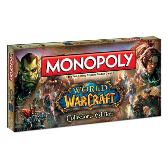 Hasbro lauamäng Monopoly - World of Warcraft