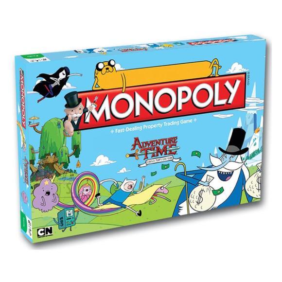Hasbro lauamäng Monopoly - Adventure Time