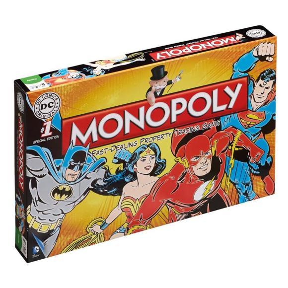 Hasbro lauamäng Monopoly - DC Comics